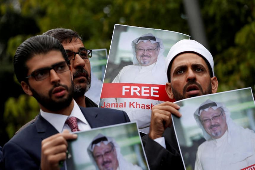 US President Donald Trump said the incident is being investigated and that the Saudis deny any involvement, despite the mounting evidence that the Saudi regime was implicated in Mr Jamal Khashoggi's disappearance.