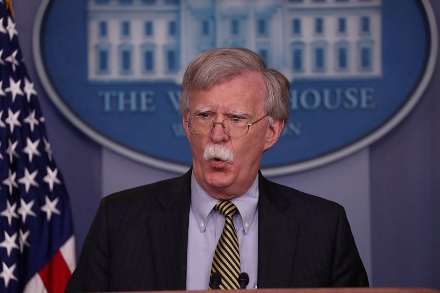 US national security adviser John Bolton's remarks came amid a series of administration broadsides against China that goes beyond a trade war.