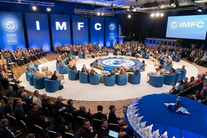 The IMFC said in a communique that members also recognised the need to continue to step up dialogue on trade and improve the World Trade Organization.
