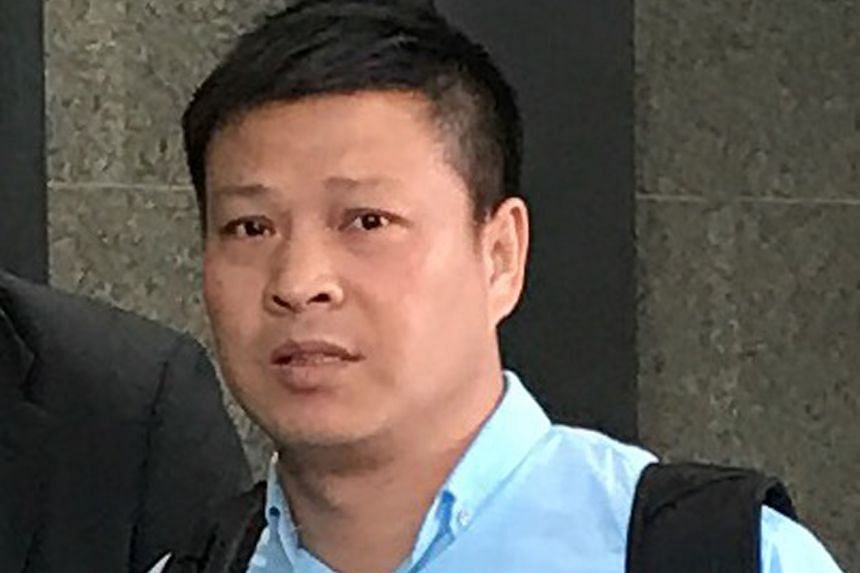Pan Xuejun, the captain of the vessel belonging to shipping company APL that was transporting the nine Terrex infantry carriers, has pleaded not guilty - together with APL - to breaching the Import and Export Ordinance. One of the nine SAF armoured v