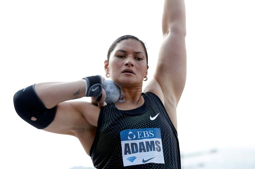 Two-time Olympic shot put champion Valerie Adams used social media to announce her pregnancy.