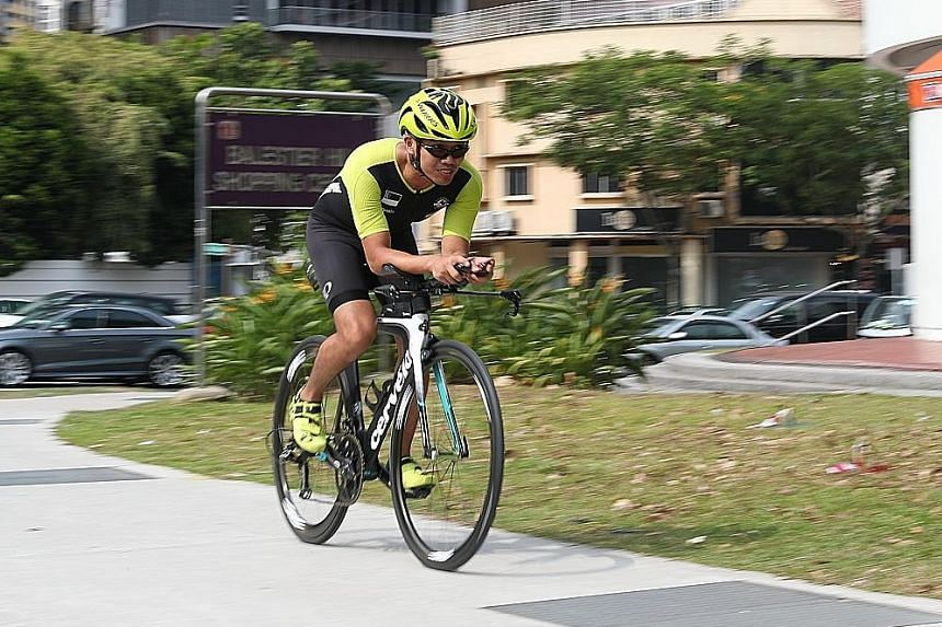 Dex Tai's appearance in today's Ironman World Championship in Hawaii is nothing short of a miracle. Last December, a bike accident left him with a broken collarbone and six broken ribs. There is now a piece of titanium in his body and his movement is