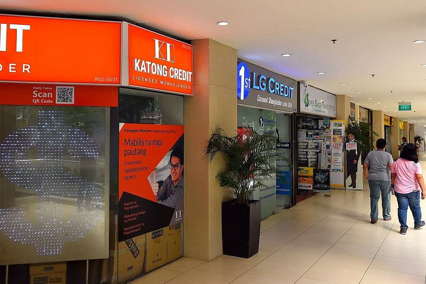 At Lucky Plaza, where there are at least six licensed moneylending firms doing brisk business, a moneylender said if maids do not have access to licensed lenders, they will end up borrowing from loan sharks.