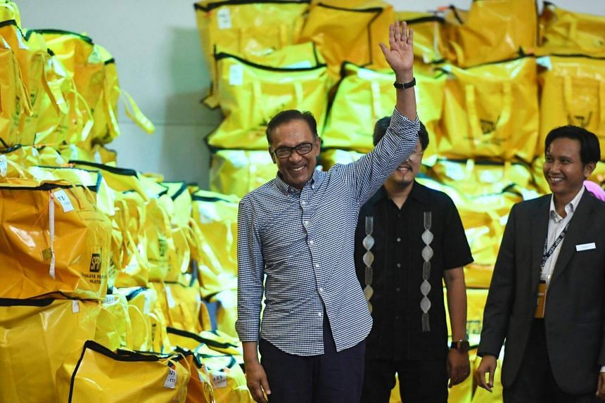 Datuk Seri Anwar Ibrahim said he was looking forward to the swearing-in ceremony as the Port Dickson MP on Monday (Oct 15).