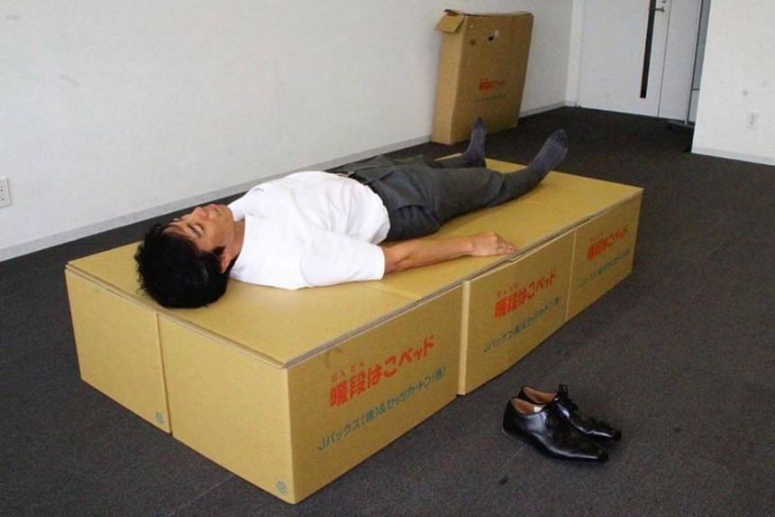A sturdy bed can be quickly completed at the Minami-Awaji city office.