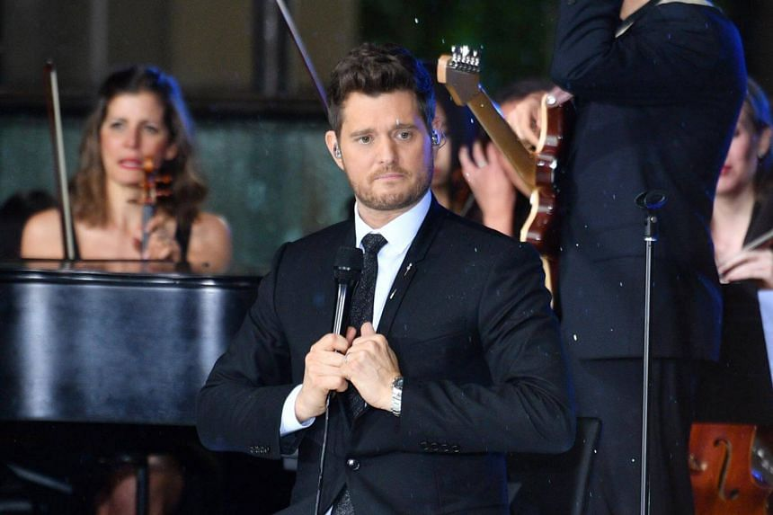 Canadian crooner Michael Buble is a multiple Grammy-winner known for his smooth vocals on evergreens and hits such as Home and Haven't Met You Yet.