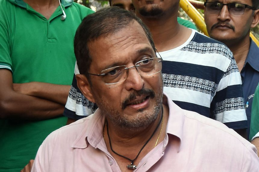 "Actor Nana Patekar and director Sajid Khan (right) face separate allegations of sexual harassment. ""This is something that requires stringent action,"" said star Akshay Kumar, who has requested the making of Housefull 4 be stopped."
