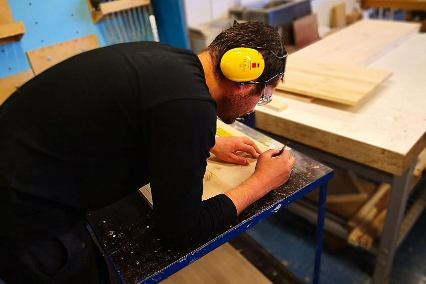 At Omnia, a Finnish vocational college, young people and even working adults learn new skills or update existing ones through adult education courses, among other qualifications. Those taking courses at the institution can be as old as 65. Some of th