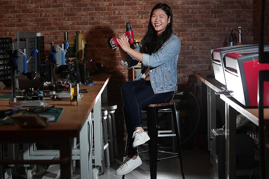 """Ms Annabelle Kwok, who started NeuralBay last year, says running her own firm gives her """"independence to share useful technology with smaller businesses that may not have resources to build it from scratch""""."""