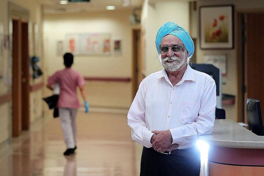 THE STRAITS TIMES SINGAPOREAN OF THE YEAR 2018 AWARD: FIRST THREE NOMINEES: Mr Harbhajan Singh