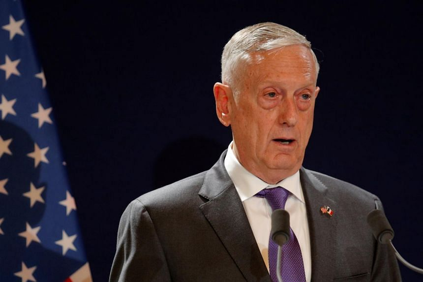 US Secretary of Defence James Mattis will visit Vietnam and also travel to Singapore, where he will participate in the Asean Defence Ministers' Meeting.