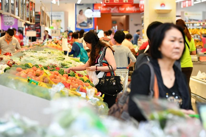 Food and retail inflation has also picked up slightly year on year.