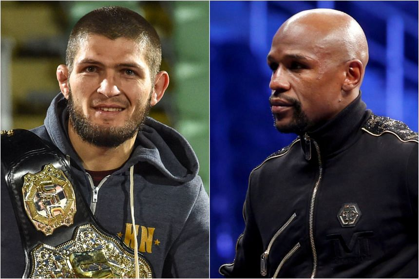 Khabib Nurmagomedov did not say whether he wished to fight Floyd Mayweather in a boxing or UFC match.