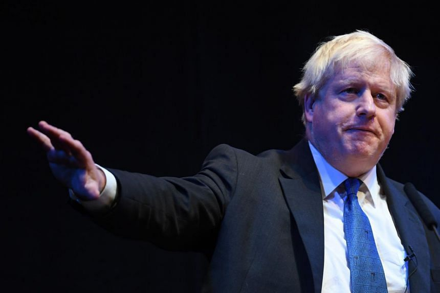 """In his weekly column in the Telegraph newspaper, Boris Johnson said the Brexit negotiations were entering a """"moment of crisis""""."""