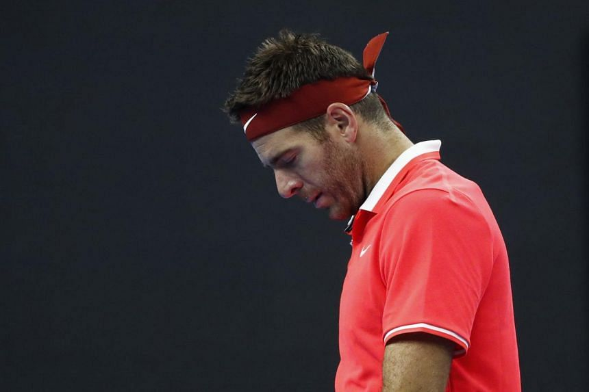 Juan Martin del Potro has been plagued by injuries since winning his only Grand Slam title at the 2009 US Open at the age of 20.