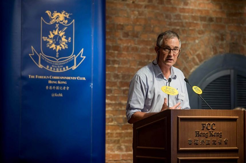 Earlier this month, Hong Kong refused to renew the work visa of Mr Victor Mallet, Asia news editor for the British-based Financial Times newspaper, after he hosted a speech by an independence activist.