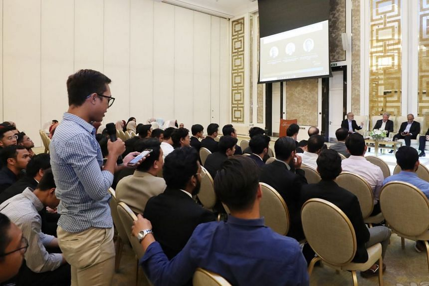 Despite being away from home, the 160 Singaporean students at the University of Jordan had kept up with current developments back home, Mr Masagos said.