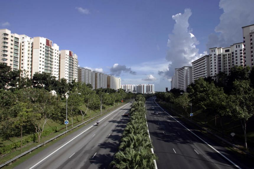 The building of the new road is aimed at alleviating traffic congestion along the Tampines Expressway, between the Punggol Way and Kallang-Paya Lebar Expressway exits.