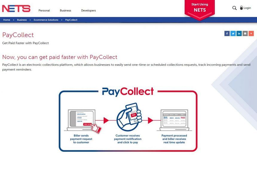 Businesses will be able to send e-invoices as request-to-pay notifications via SMS or email, and customers can make payment via mobile apps by clicking on a link in the notification.