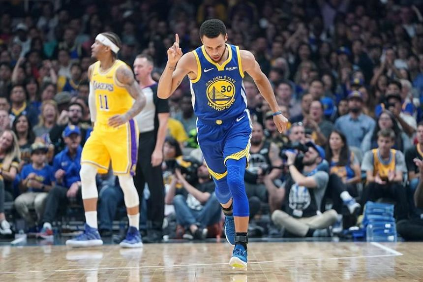 Stephen Curry said it's fun to be wearing the target for every NBA rival.