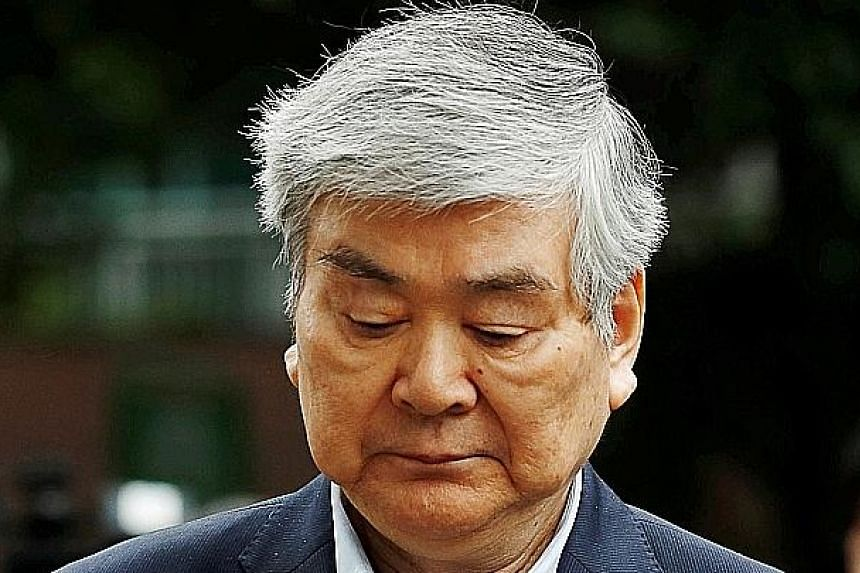 Cho Yang-ho has been charged with embezzling $23.9 million.