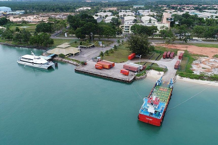 The upcoming halal industrial park, which is part of Bintan Industrial Estate. The Bintan park will focus on food and beverage products, while the Batam park will specialise in non-food products such as cosmetics. Each park will be developed in phase