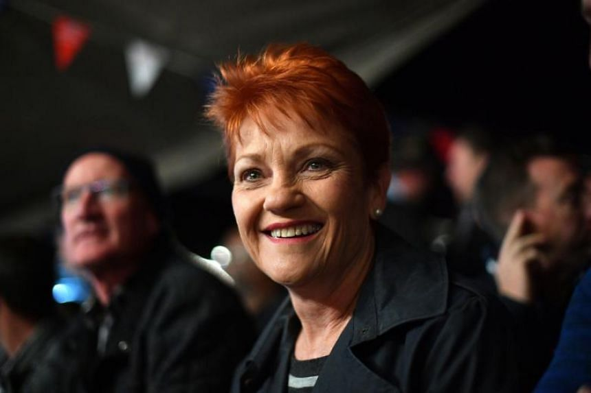 "The resolution, tabled in the Senate on Monday, was drafted by populist firebrand Pauline Hanson and railed against what it described as ""the deplorable rise of anti-white racism""."