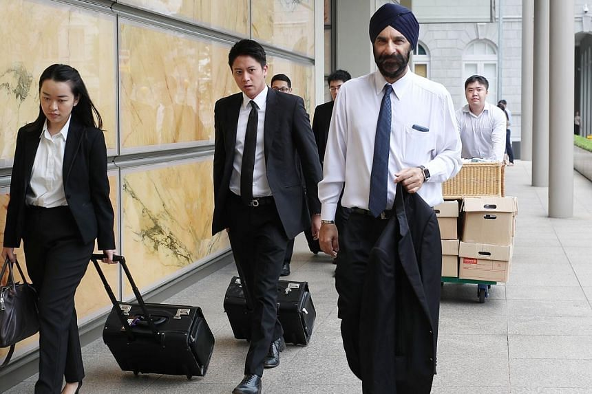 Senior Counsel Davinder Singh, who is representing the Pasir Ris-Punggol Town Council, suggested that three Workers' Party MPs had decided to appoint FM Solutions & Services within three days of it winning Aljunied GRC.