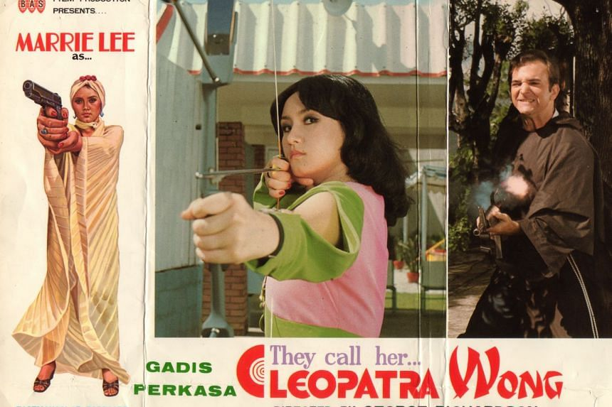 The movie poster for They Call Her Cleopatra Wong. Beach House Pictures has acquired the character rights for Cleopatra Wong from actress Doris Young, who played the heroine.