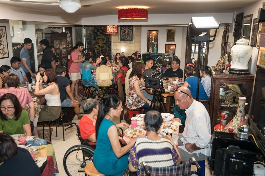 My Home Your Home is a private home dining and entertainment experience run by Ms Rose Sivam, her home chef husband Chris Choo and their 11-year-old daughter Aleia.