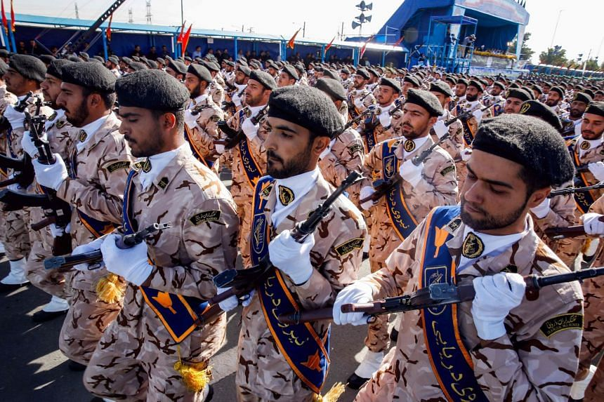 The 14 security forces who were kidnapped include members of the Revolutionary Guards.