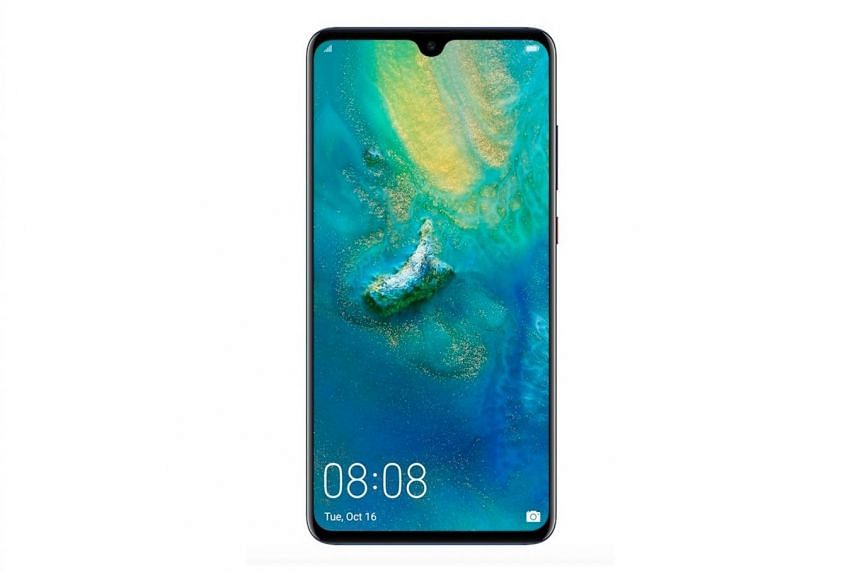 The Huawei Mate 20 has a slightly larger 6.53-inch screen compared to the Mate 20 Pro's 6.39-inch display. It also has a much smaller notch, though the Pro version has a more expensive Oled screen.