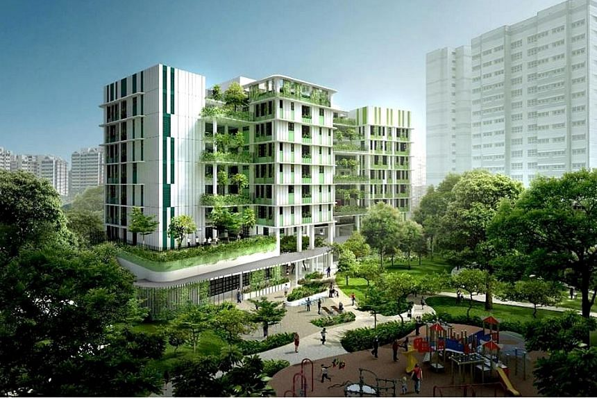 An artist's impression of Bukit Batok Care Home, which will open in the middle of next year.