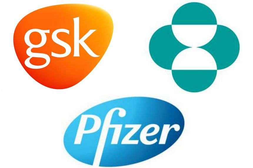 The firms - GlaxoSmithKline, MSD International and Pfizer Asia - inked a $34 million agreement yesterday for the Pharma Innovation Programme Singapore.