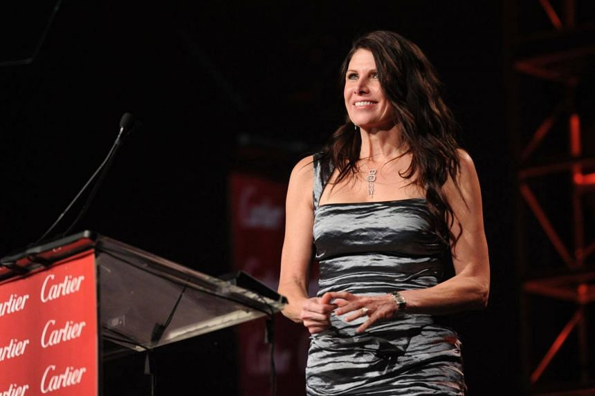 Former Republican politician Mary Bono (pictured) will fill the role while USA Gymnastics searches for a permanent successor to Kerry Perry, who resigned last month.