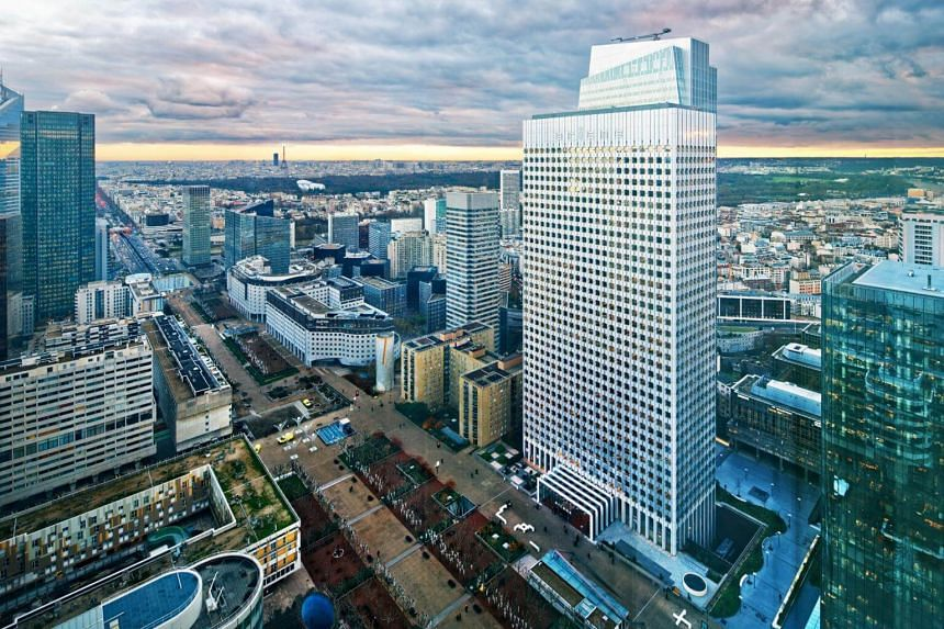 The real estate investment involves GIC buying Tour Ariane, a 40-storey office tower in Paris, for €465 million (S$740 million).