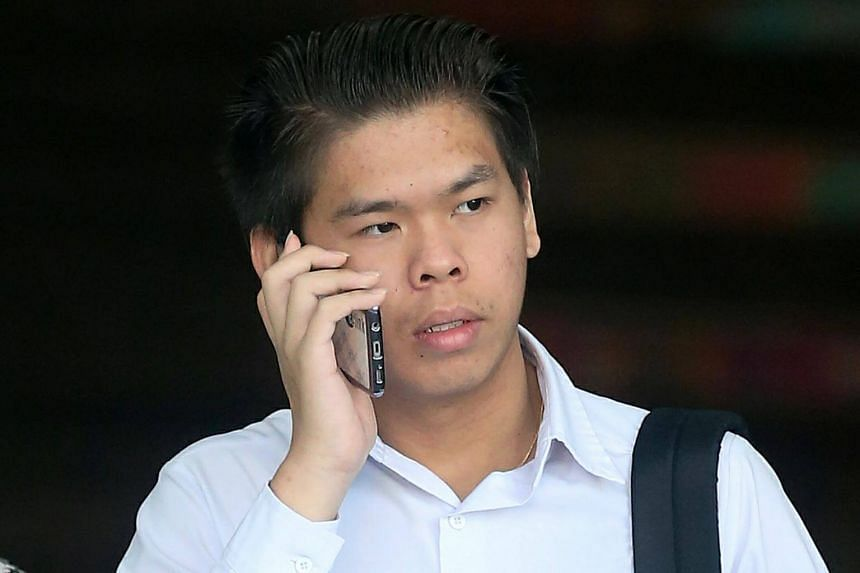 Institute of Technical Education College Central student Ho Jun Wei, who pleaded guilty to causing grievous hurt by performing a rash act, was sentenced to 15 months' probation.