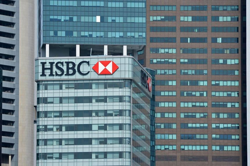 File photo showing the HSBC Building in the central business district.