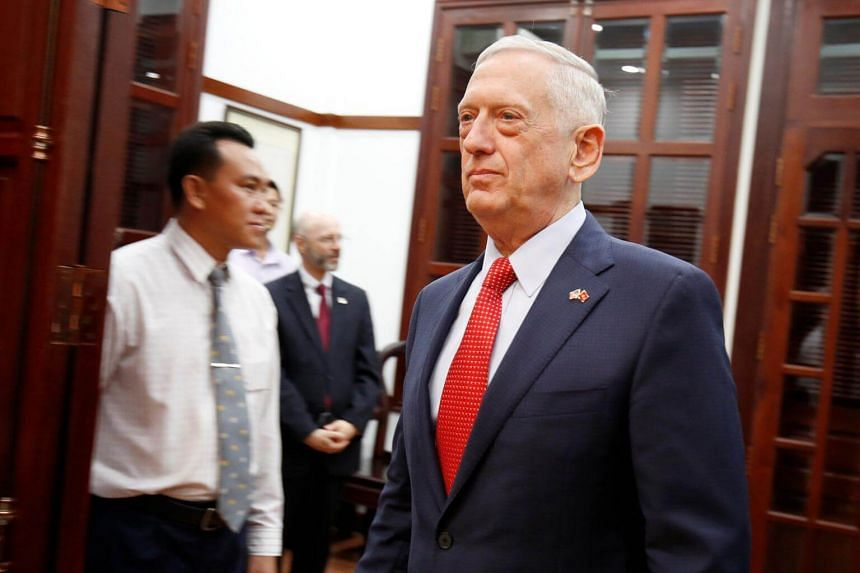 US Defence Secretary Jim Mattis said he wants visit the Bien Hoa site, outside Ho Chi Minh City, so when he goes back and talks to Congress, he can tell them his impression with actually having seen the site.
