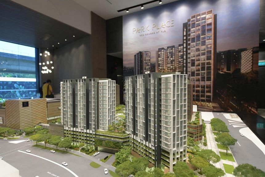 Park Place Residences by Lendlease fetched an average price of $1,806 per square foot in its launch year.