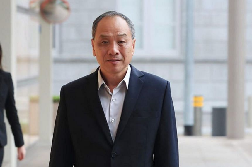 """Senior Counsel Davinder Singh said Workers' Party chief Low Thia Khiang (pictured) had """"effectively put AHTC in a position where it was locked into FMSS going forward"""" by allowing FMSS to be the managing agent from the start of the WP's takeover."""