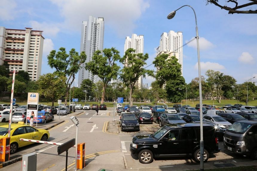 """The open-air carpark at Holland Village will close on Feb 1 next year to """"facilitate early upgrading of the backlane of 25 to 33 Lorong Liput and construction of the new Holland Village Way."""