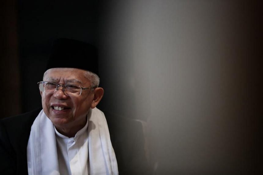 Muslim scholar Ma'ruf Amin said he agreed to be the running mate of President Joko Widodo to help promote tolerance and religious diversity.