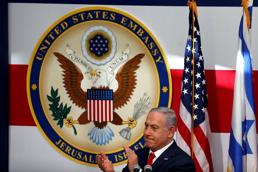 U.S. merges diplomatic office for Palestinians into Jerusalem embassy: Pompeo