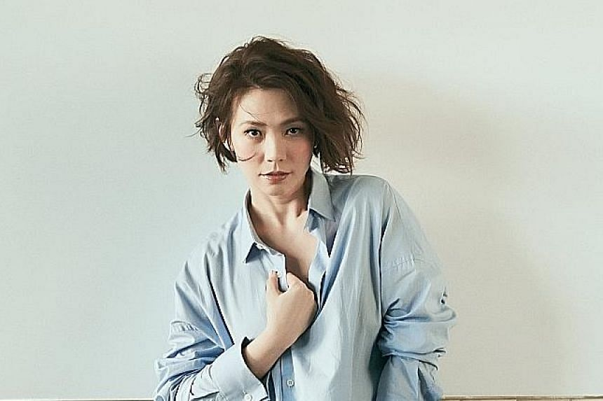Kit Chan, who debuted in 1993, is known for heartbreak ballads such as Heartache.