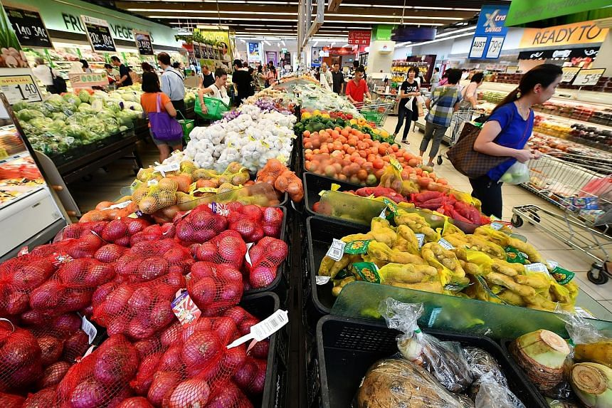 Singapore's high score on the Global Food Security Index was largely due to its strength in the affordability component of the index. But the report also noted that food security for the Republic, which imports more than 90 per cent of its food, is t
