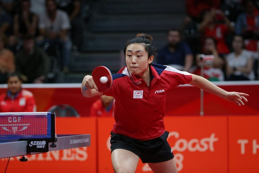 World No. 11 Feng Tianwei was Singapore's only T2 representative in 2017.