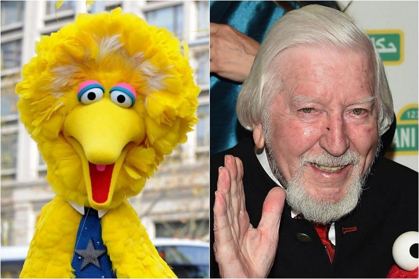 e1cb840a3 Puppeteer Caroll Spinney who brought Big Bird to life on the iconic  children's television series since