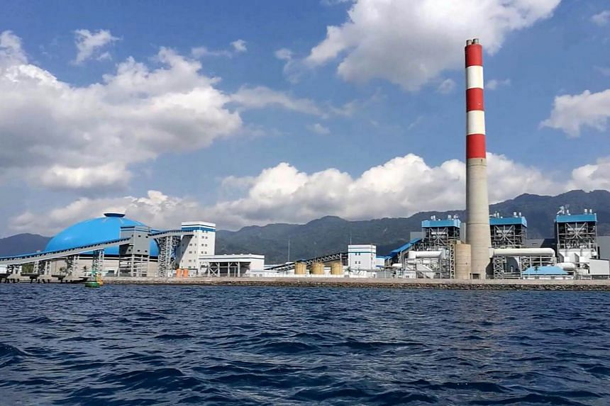 A coal-fired power plant in Bali. About 88 per cent of existing and 56 per cent of planned fossil fuel power plants in South-east Asia don't meet the emissions thresholds for keeping global temperatures within 1.5 deg C of pre-industrial levels.