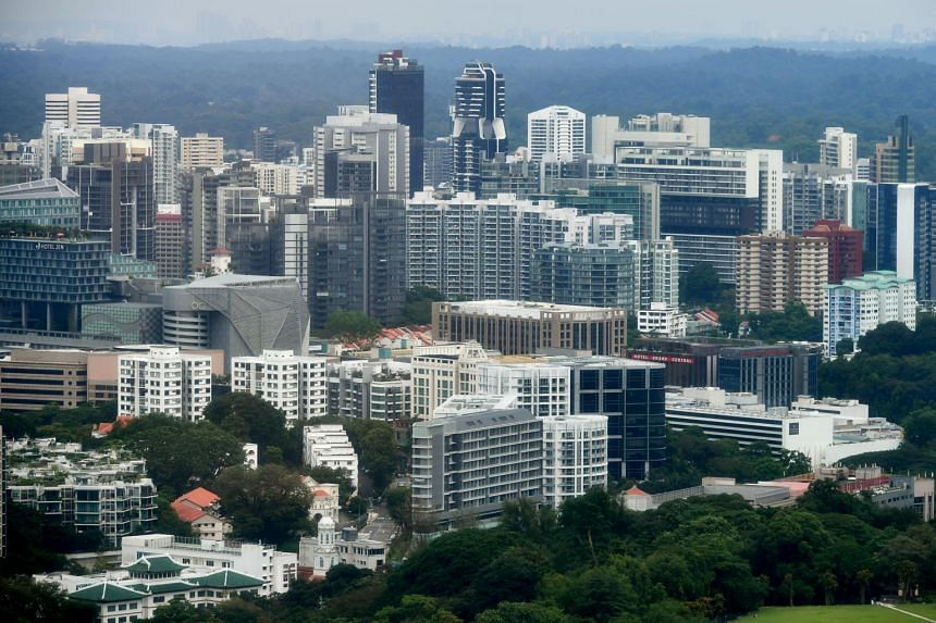 Financial assets make up 55 per cent of gross household wealth in Singapore, a ratio similar to that of Switzerland, the richest per capita economy.